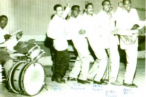 The Star Upsetters with Ira on drums. Courtesy of Julia Heyward.