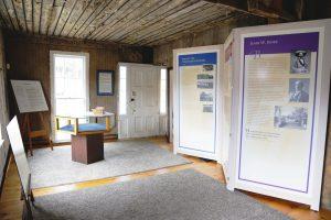 Interior of the John W. Jones Museum. Photo: T.C. Owens