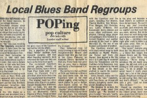 Press clipping from when the Star Upsetters regrouped. Courtesy of Julia and Christa Heyward.